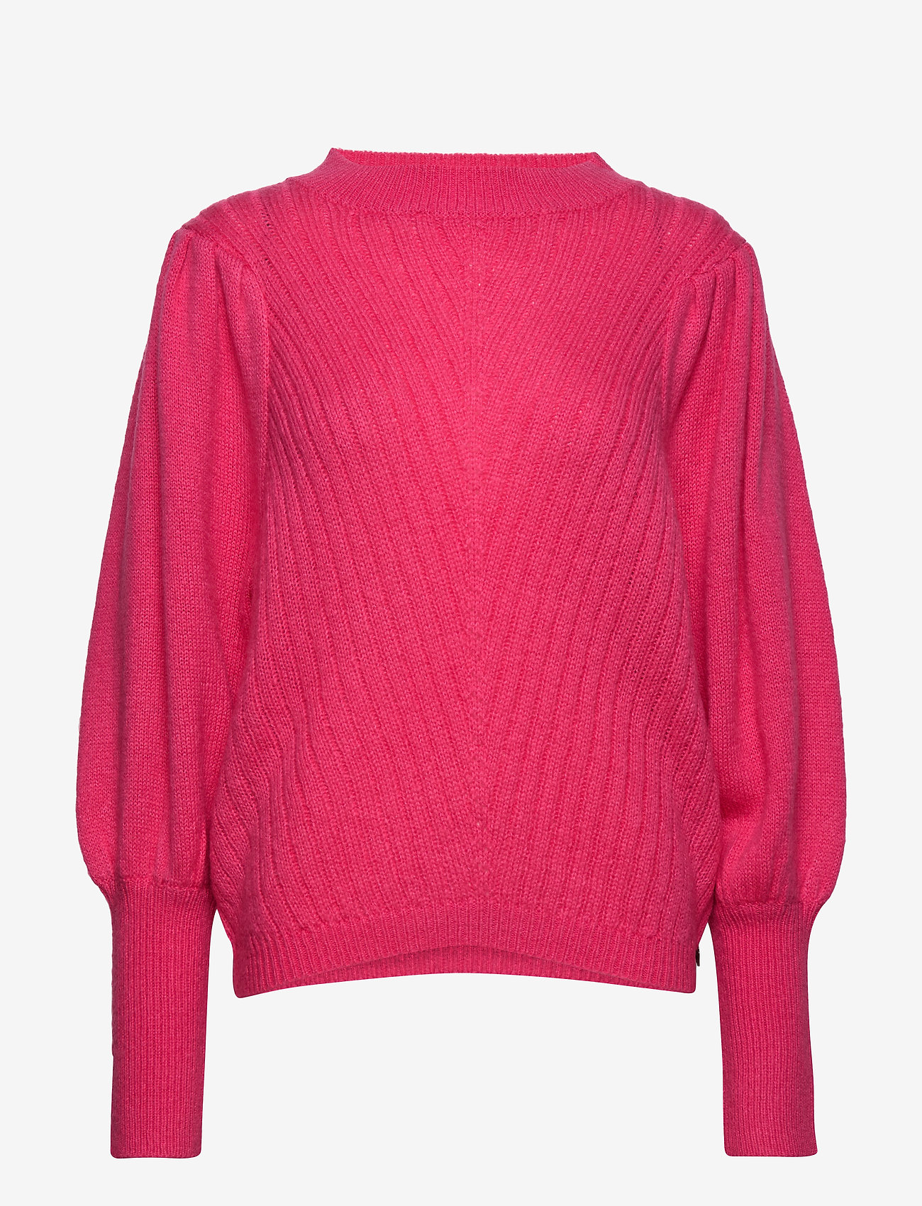 Coster Copenhagen - Knit w. volume at sleeves - neulepuserot - clear pink