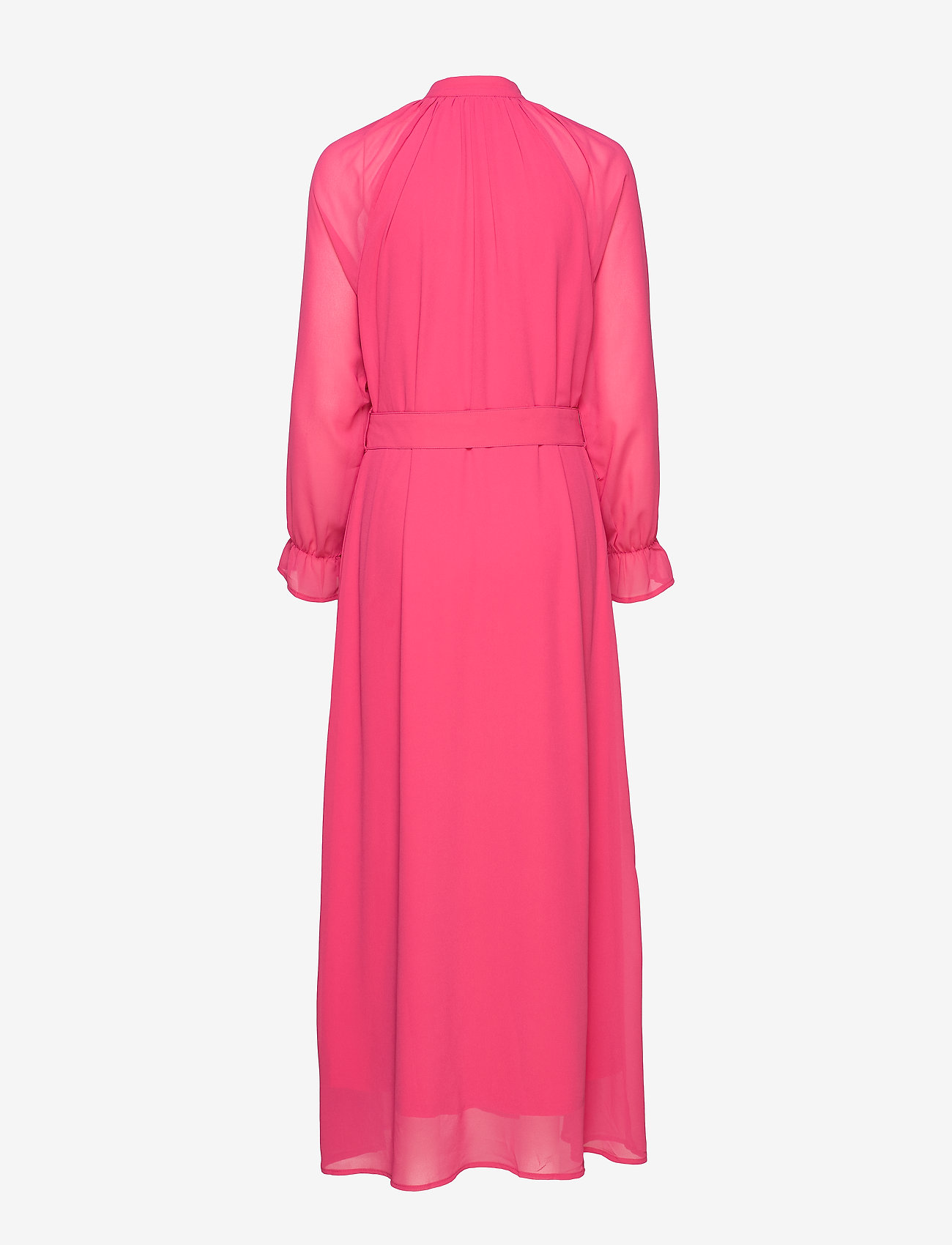 Coster Copenhagen - Dress w. buckle closure at waist - maksimekot - clear pink