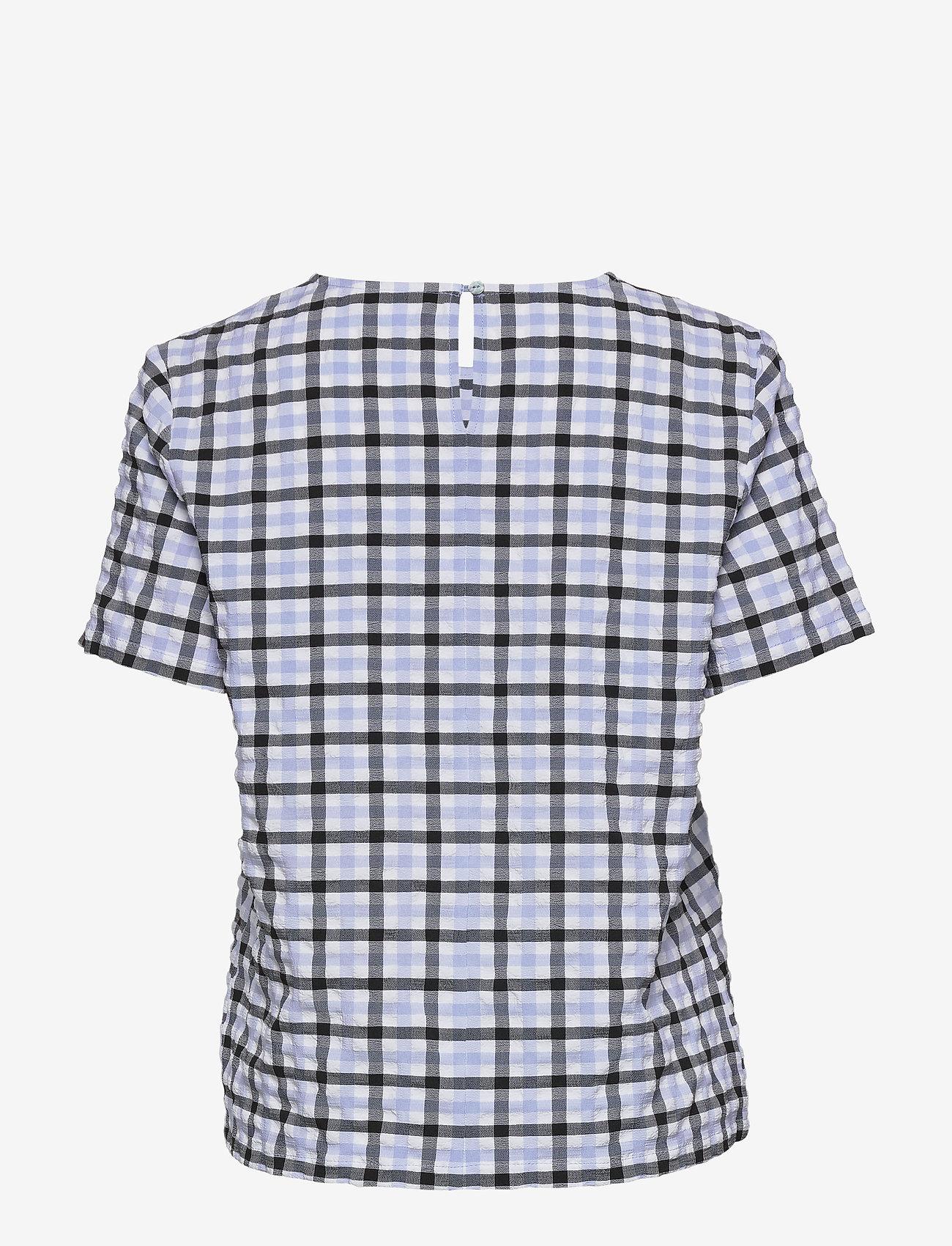 Coster Copenhagen Blouse w. elastic loop - Bluzki & Koszule MILKY BOY CHECK - Kobiety Odzież.