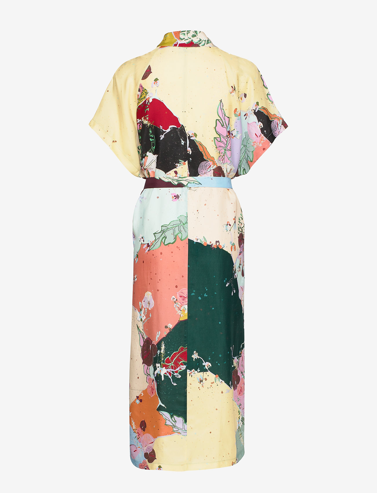 Coster Copenhagen Dress W. Tubular Ring Detail - Robes Flamingo Flower