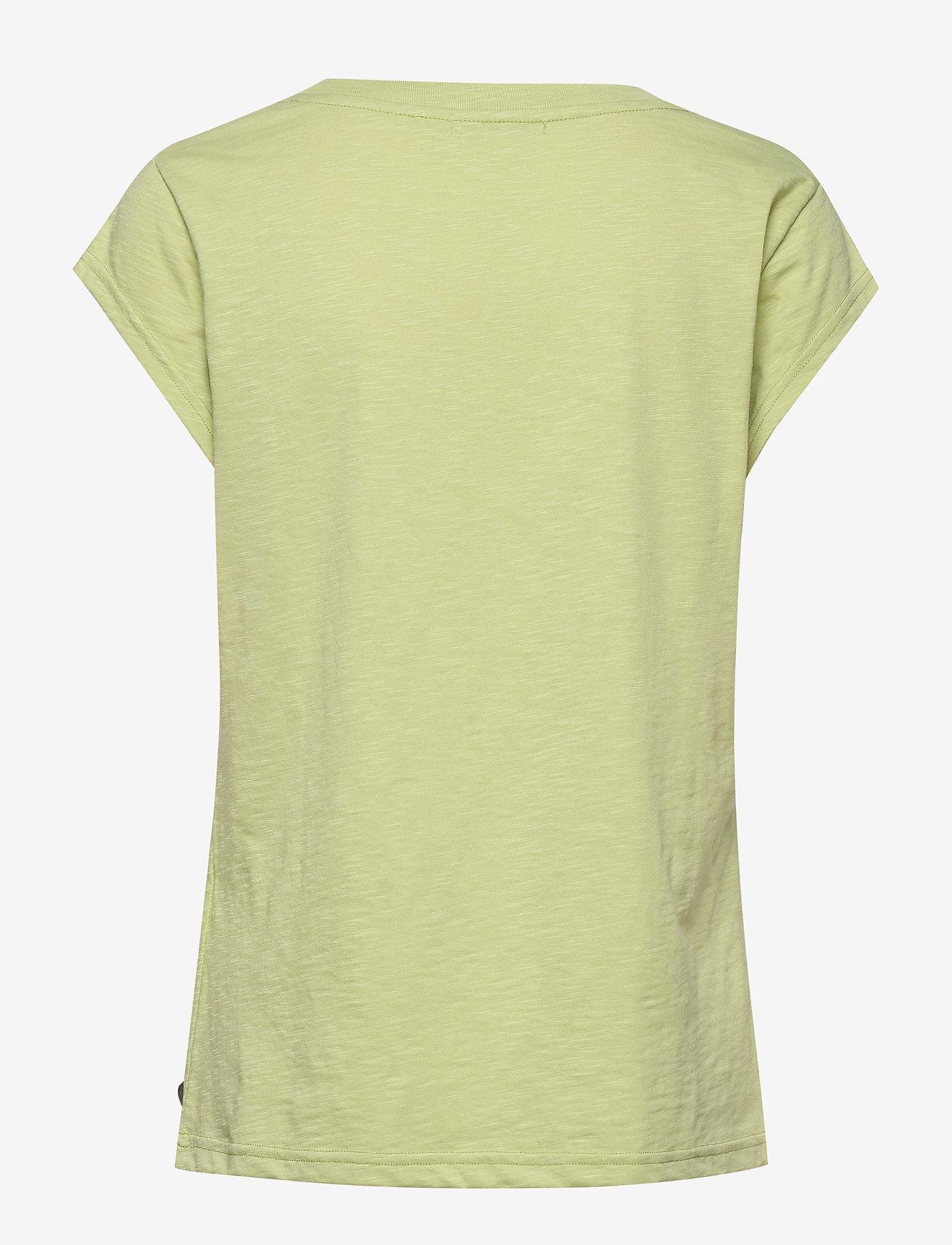 Coster Copenhagen Tee w. wave print - T-shirty i zopy LIGHT PISTACHE - Kobiety Odzież.