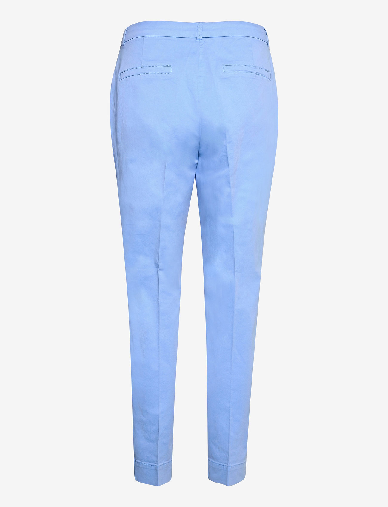 Coster Copenhagen - Chino pants w. press fold and paspe - chinos - airy blue - 1