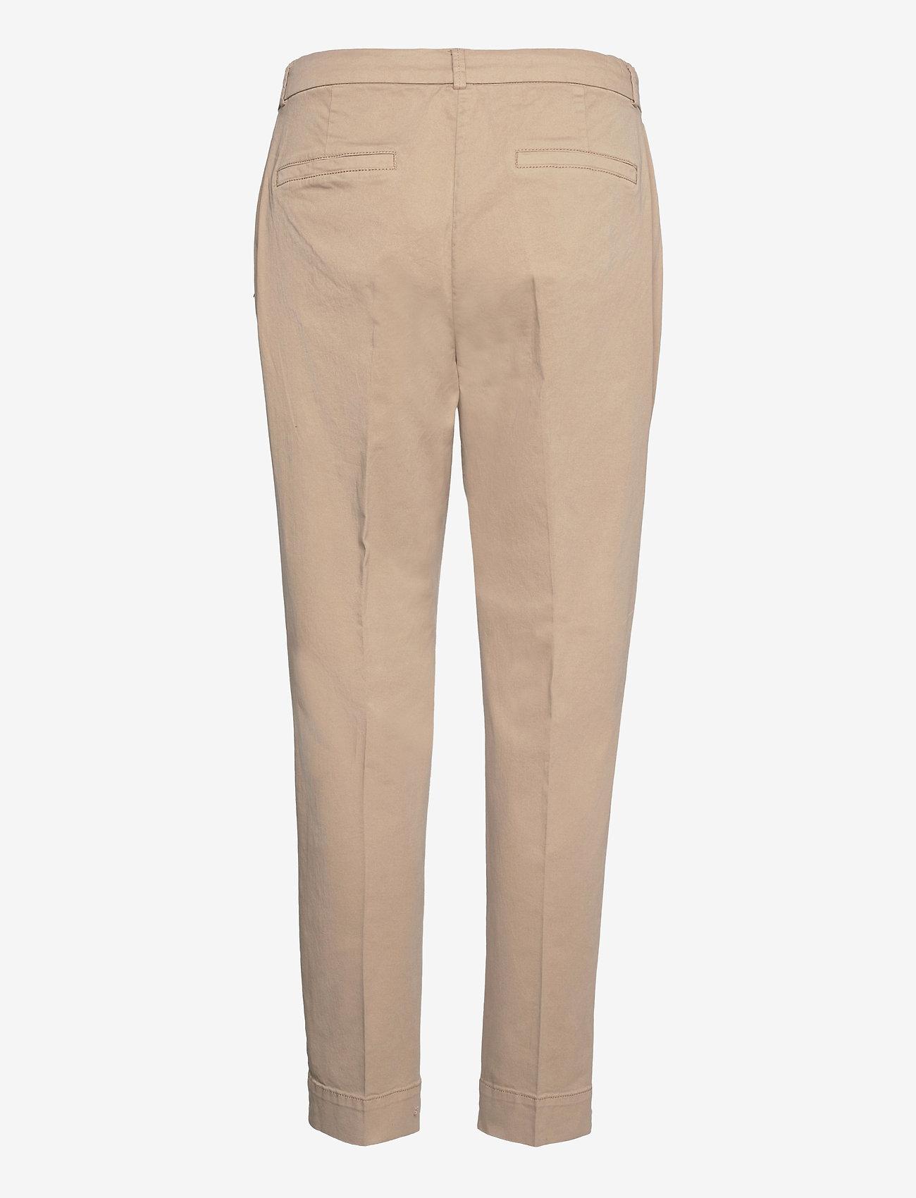 Coster Copenhagen - Chino pants w. press fold and paspe - chinos - khaki - 1