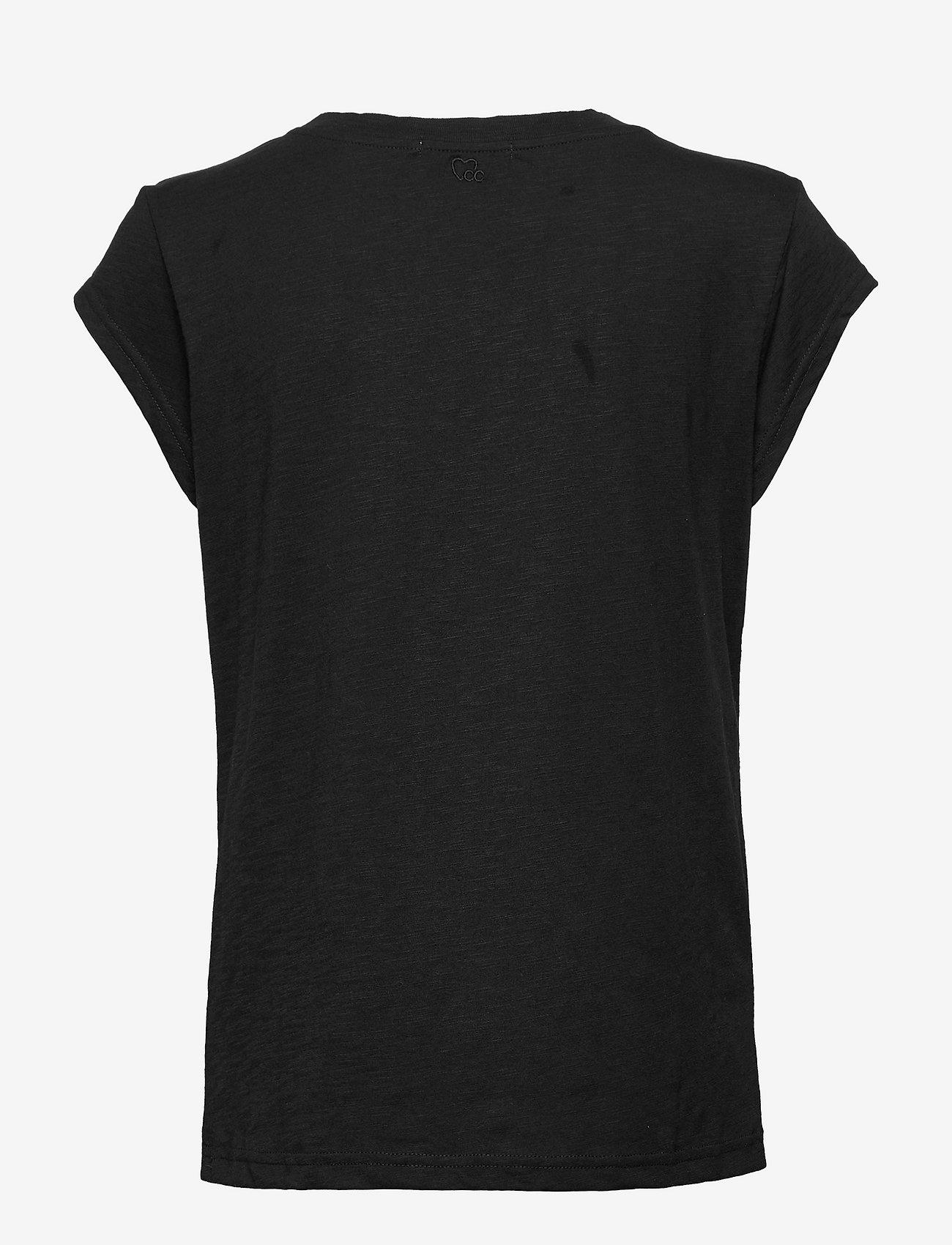 Coster Copenhagen - Basic tee - logo t-shirts - black