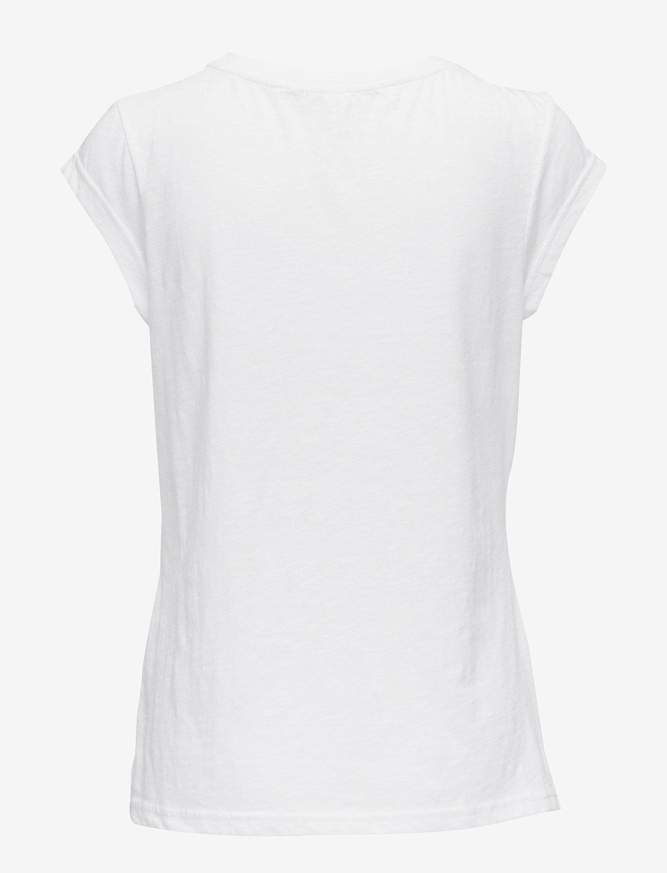 Coster Copenhagen - CC Heart basic t-shirt (B0017) - t-krekli - white - 1