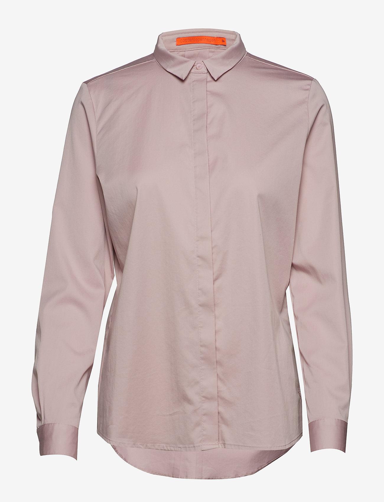 Coster Copenhagen - Regular shirt - koszule z długimi rękawami - soft rose - 0