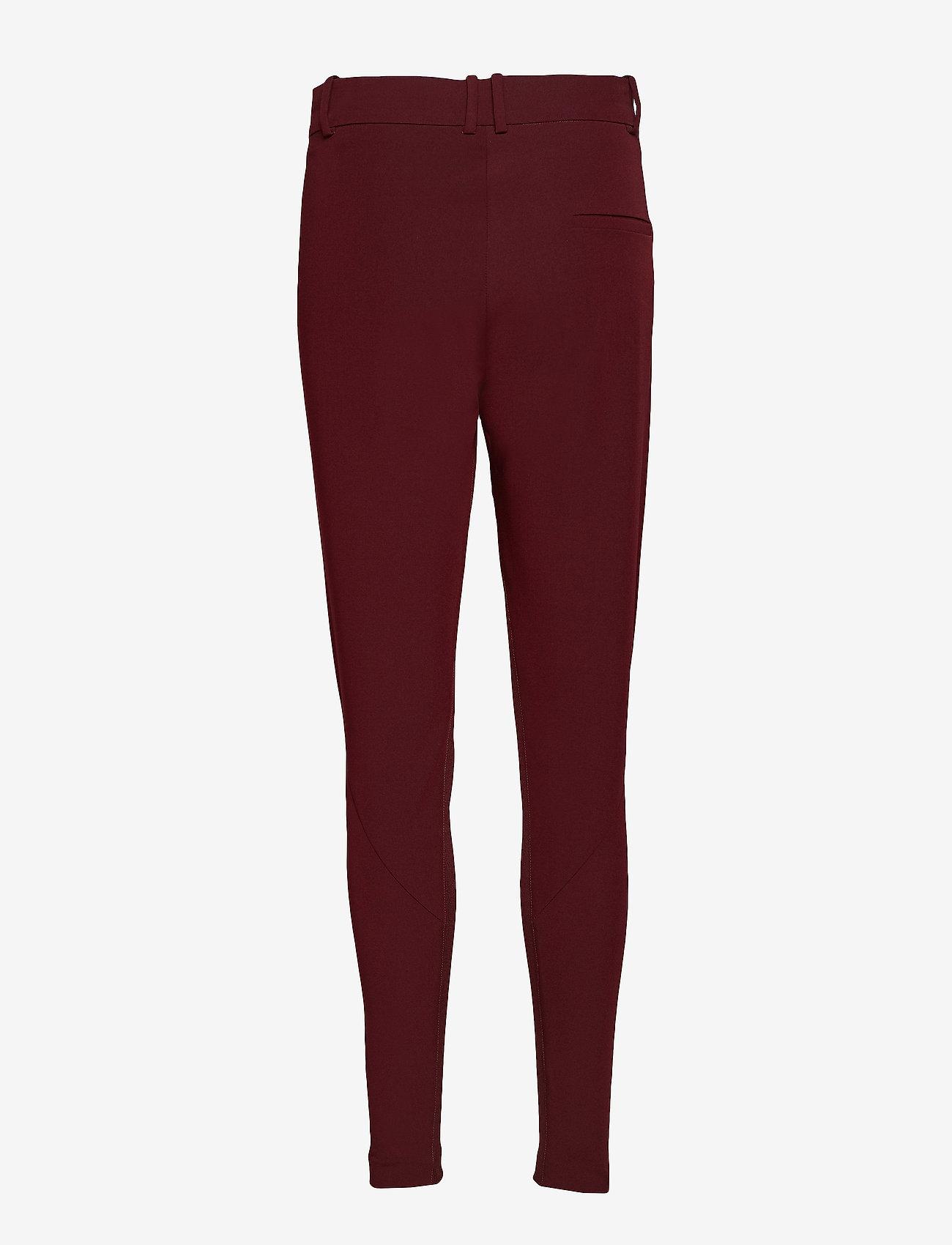 Coster Copenhagen Suit pants - Coco - Spodnie BORDEAUX - Kobiety Odzież.