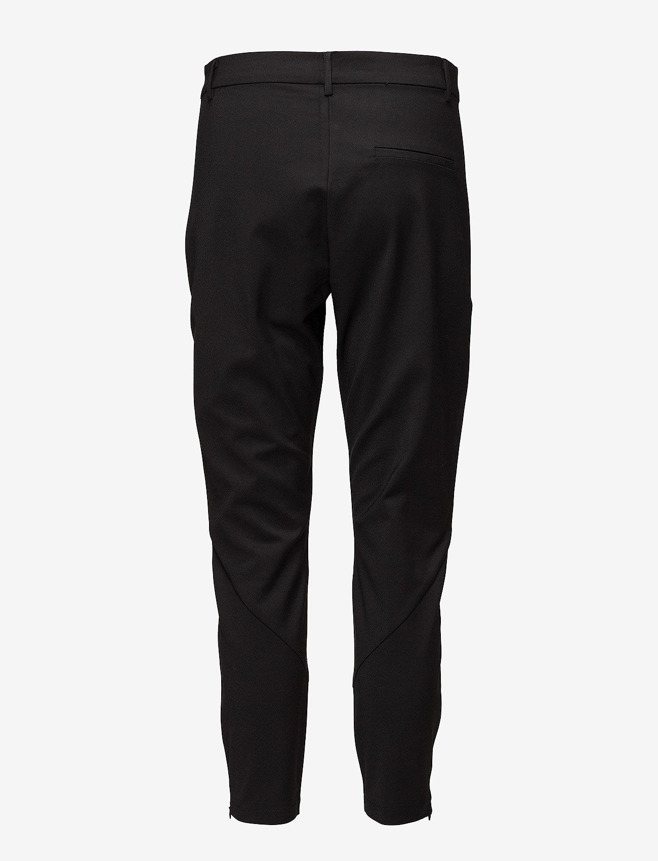 Coster Copenhagen - 7/8 pants - Stella - spodnie proste - black