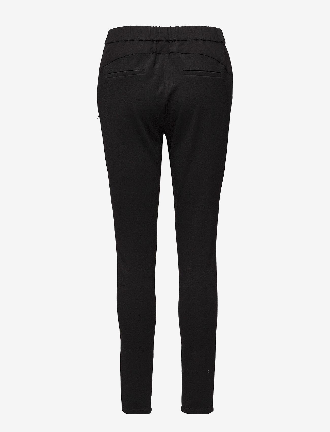 Coster Copenhagen - Pants w. Jersey back - Luca - broeken med skinny fit - black - 1