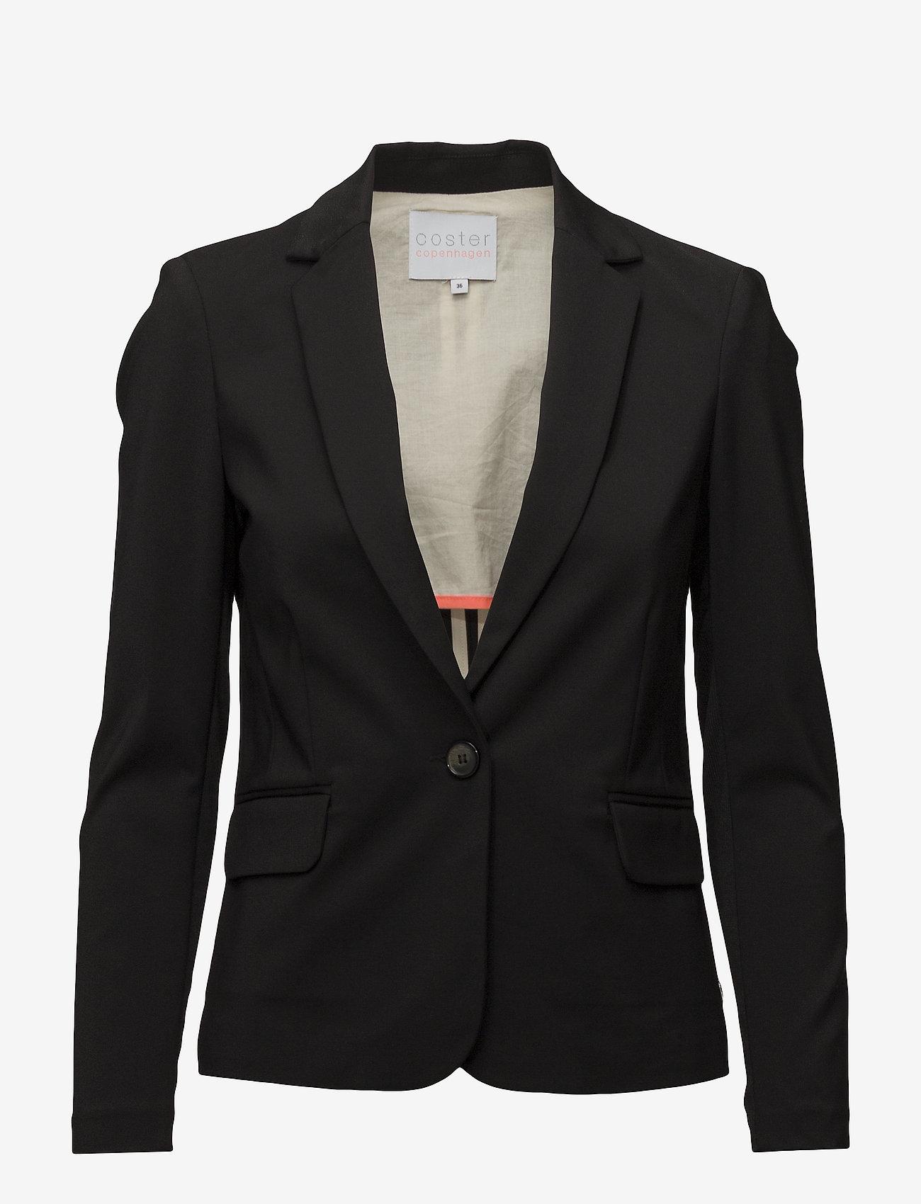 Coster Copenhagen - Suit jacket - vardagskavajer - black - 0