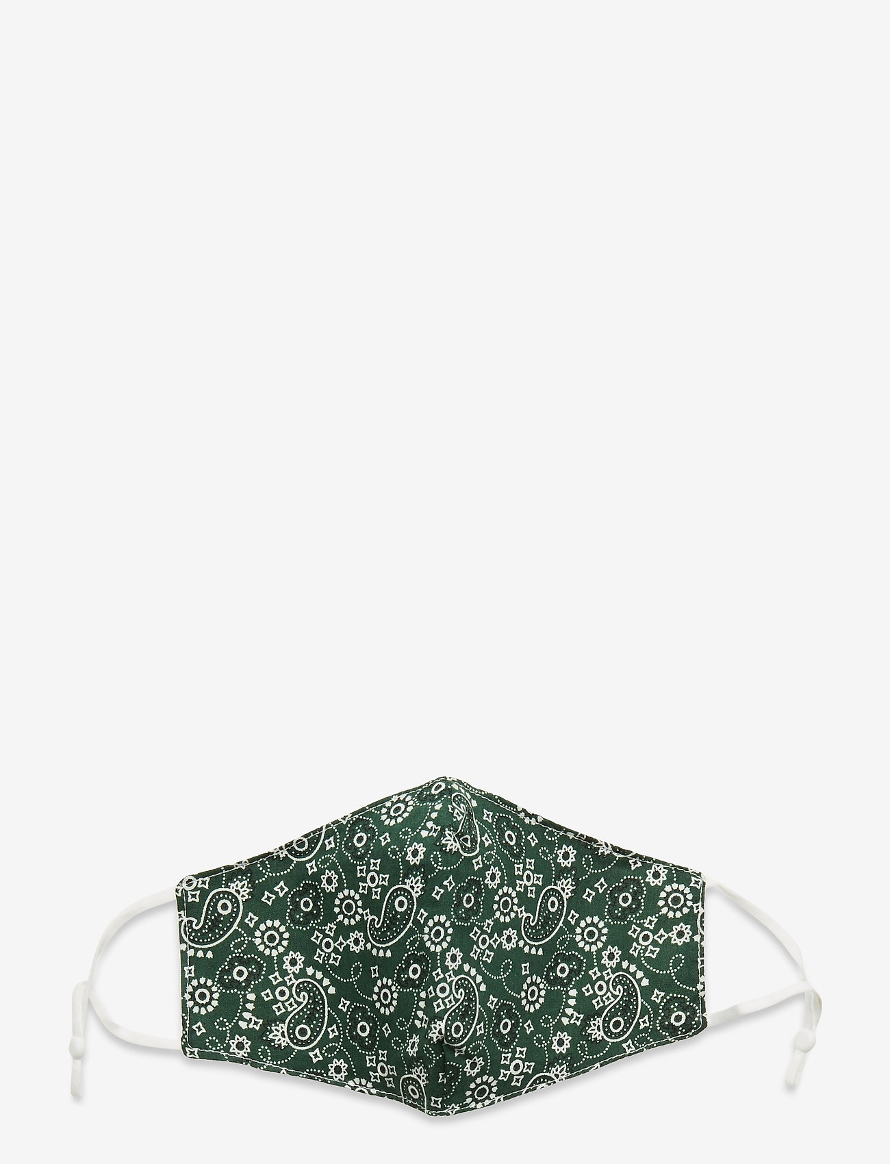 Coster Copenhagen - Face mask with 5 filters - gezicht maskers - green paisley - 0