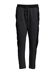 Leather sweat pants - SALT / PEPPER