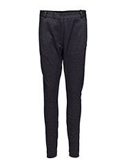 Suit pants in jersey - DARK BLUE/DIJON GRAPHIC