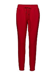 Heavy jersey trousers - HAUTE RED