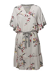 Dress w. tieband and ruffle and mys - MYSTERY FLOWER