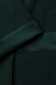 Coster Copenhagen - Long jacket w. shawl collar - light coats - emerald green - 4