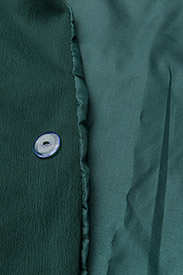 Coster Copenhagen - Long jacket w. shawl collar - light coats - emerald green - 5