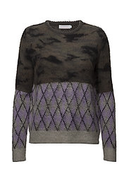 Coster Copenhagen - Sweater In Mixed Camouflage And Che