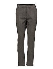 Coster Copenhagen - Cigarette Pants In Check Fabric, An
