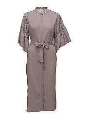 Coster Copenhagen - Shirt Dress In Stripe Print W. Vola