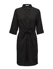 Coster Copenhagen - Shirt Dress W. Tie Knot And Drape
