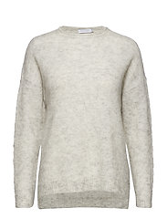 Mohair sweater - SNOW GREY