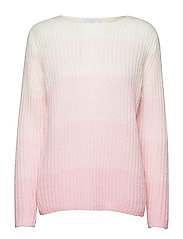Sweater in mohair w. color degrade - BEGONIA