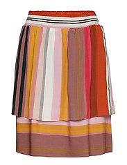 Skirt in stripe print - STRIPE PRINT