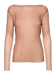 Blouse long sleeved in lurex - COBBER