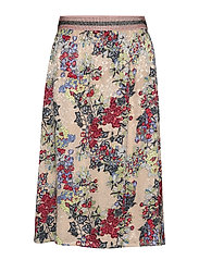 Skirt in winter berry print - WINTER BERRY PRINT