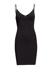 Seamless dress (Basic) - BLACK