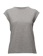 Basic tee - LIGHT GREY MELANGE