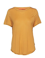 T-shirt w. short sleeve - GOLD SPICE