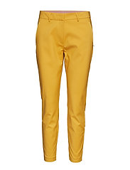 Pants with zipper pockets - Julia - GOLD SPICE