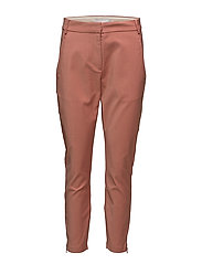 7/8 pants - Stella - DARK SALMON MELANGE
