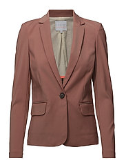 Suit jacket - DARK SALMON MELANGE