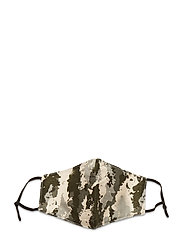 Face mask with 5 filters - CAMOUFLAGE