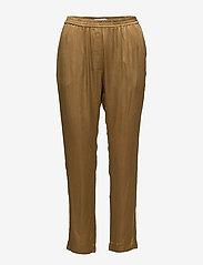 Coster Copenhagen - Pants w. elastic - casual bukser - dijon - 0
