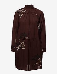 Coster Copenhagen - Dress w. turtle neck and blossom print - courtes robes - blossum print - 0