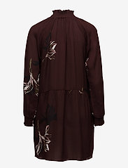 Coster Copenhagen - Dress w. turtle neck and blossom print - courtes robes - blossum print - 1
