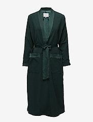 Coster Copenhagen - Long jacket w. shawl collar - light coats - emerald green - 0