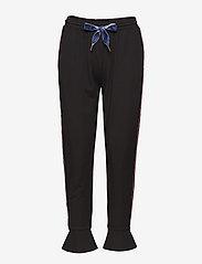 Coster Copenhagen - Sweatpants w. volant cuff - sweatpants - black - 0