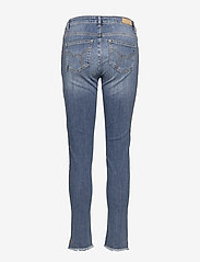 Coster Copenhagen - Jeans - relaxed fit, ankle lenght w. little flare and stripe - straight jeans - classic indigo - 1