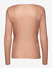 Coster Copenhagen - Blouse long sleeved in lurex - blouses à manches longues - cobber - 1
