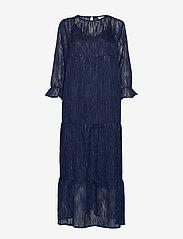 Coster Copenhagen - Dress long sleeved w. volume at sle - robes de fête - night sky blue - 0