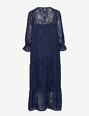 Coster Copenhagen - Dress long sleeved w. volume at sle - robes de fête - night sky blue - 1