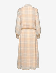 Coster Copenhagen - Dress long sleeved in check print - shirt dresses - check print - 1