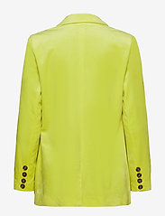 Coster Copenhagen - Suit jacket w. button closure - vestes tailleur - neon yellow - 1