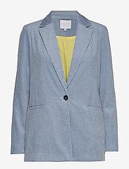 Coster Copenhagen - Suit jacket in corduroy - vestes tailleur - shadow blue - 0