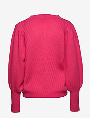 Coster Copenhagen - Knit w. volume at sleeves - neulepuserot - clear pink - 1